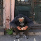 Homeless guy
