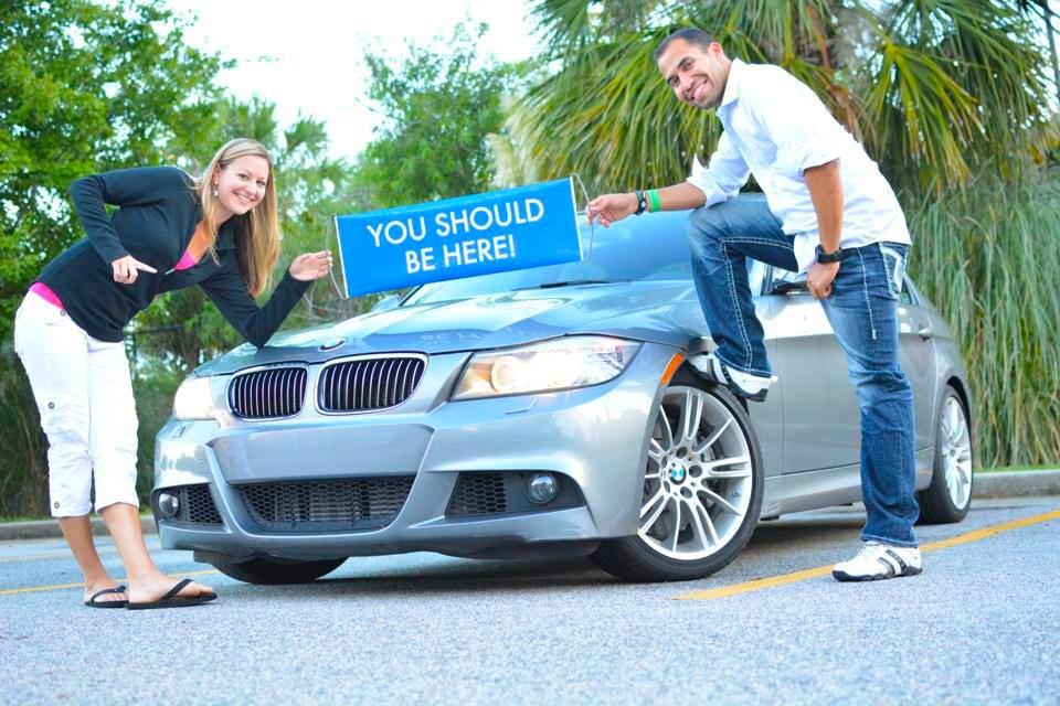 Cesar & Tanya BMW pic