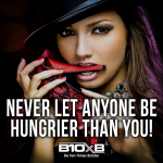 Never Let Anyone Be Hungrier Than You!